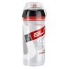 Elite Corsa MTB Trinkflasche 550ml transparent/rot